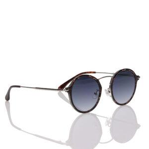 fleck turtle poliphilo occhiali da sole rotondi tartarugati